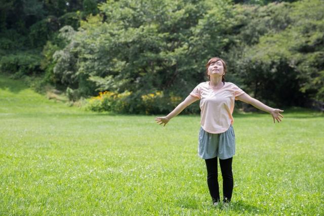 ストレス過多から一変?!幸せになれる呼吸法